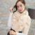 2016 Nueva Moda Otoño Invierno de la Cachemira Bufandas Mujeres Mujer Perlas Bufanda Super Larga Bufanda Mujeres Scraf