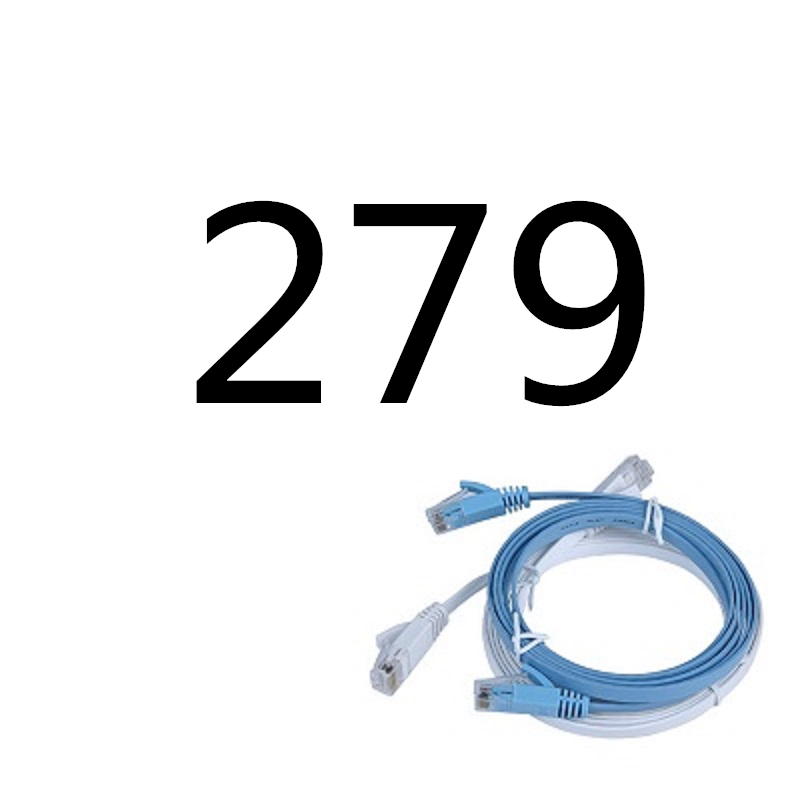 279# MEIBAI CAT5 Flat Ethernet Cable Networking Ethernet Patch Cord LAN279# MEIBAI CAT5 Flat Ethernet Cable Networking Ethernet Patch Cord LAN