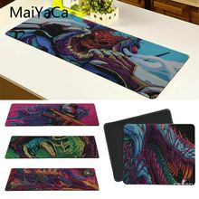 MaiYaCa Hot Sales Hyper beast Unique Desktop Pad Game Mousepad Large Thicken Comfy Waterproof Gaming Rubber Mouse