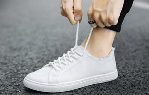 Image 2 - Canvas shoes, boys, white shoes, breathable sports, casual mens shoes