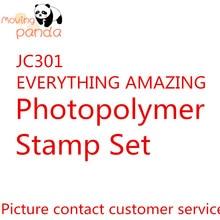 цена JC301 EVERYTHING AMAZING Metal Cutting Dies And Stamps Crafts And Scrapbooking Album Embossing Paper Craft Diy Paper Craft онлайн в 2017 году