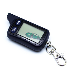 TZ 9030 LCD Remote Controller Key Fob Chain For Tomahawk TZ9030 2-way car alarm system LCD remote Starter Tomahawk TZ-9030