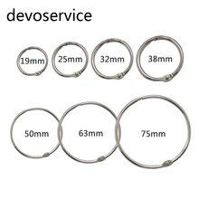 10 шт металлические кольца брелоки для скрапбукинга