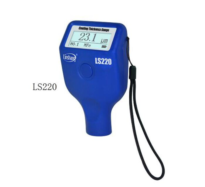 Linshang LS220 or LS221 coating thickness gauge free shipping