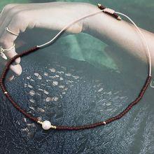 Japan Miyuki Single Pearl Bracelet For Women Delica Beads Seed Handmade Weave Adjustable Bracelets 2019 Fashion Jewelry Gift