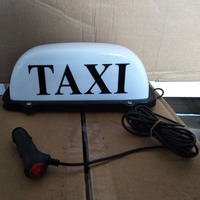 12V 24V LED Long Car Auto Dome Roof Cab Magnetic Taxi Hire Light Lamp Yellow taxi top light
