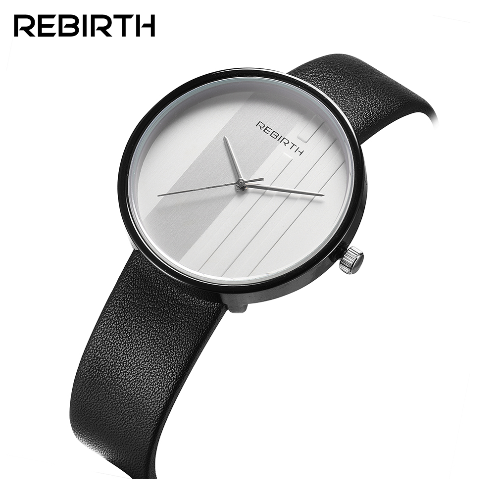 Rebirth new Casual quartz  lovers watch Fashion trendy watch simple men and women neutral couple waterproof belt quartz watchRebirth new Casual quartz  lovers watch Fashion trendy watch simple men and women neutral couple waterproof belt quartz watch