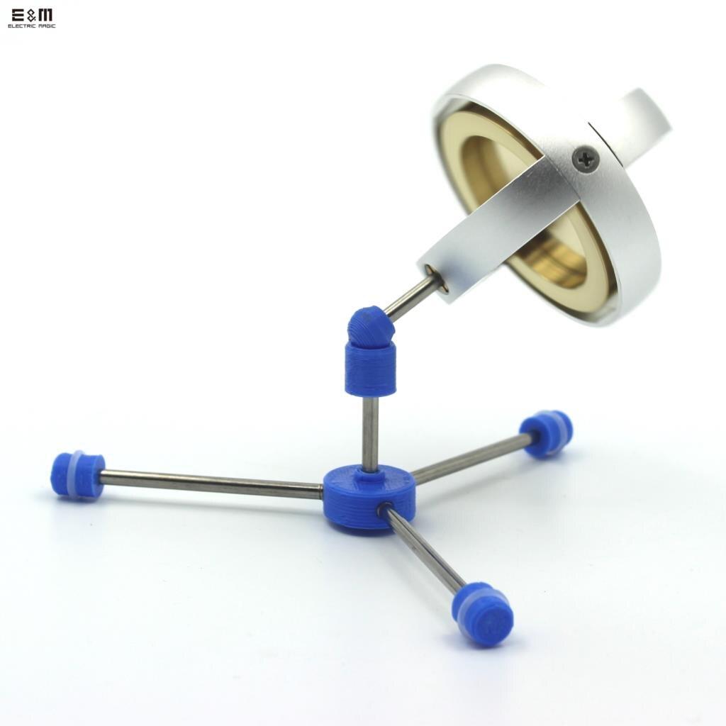 7500 tr/min électrique mécanique métal Gyro jouets Gyroscope classique Collection cadeaux Anti gravité technologie créative