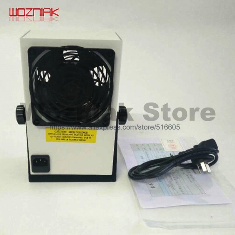 Industrial anti-static PC Ionizing Air Blower Fan Ion Anti-Static 220V AC ( Electrostatic ion Electric Fan ) 220V недорого