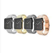 Высочайшее качество Бабочка Застежка Блокировки Ссылку Группа браслет из нержавеющей стали ремень для Apple Watch/Спорт/Издание 38 мм 42 мм iwatch