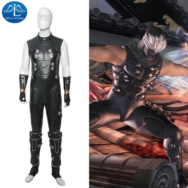Manluyunxiao New Men S Ninja Gaiden Ryu Hayabusa Cosplay Costume