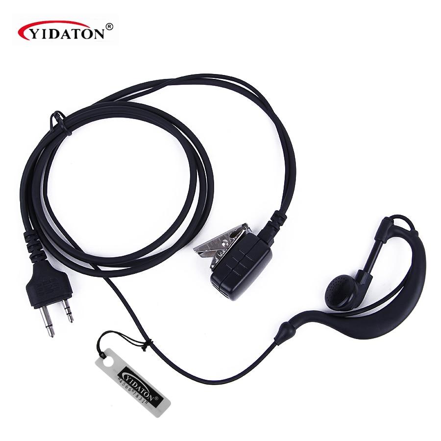imágenes para Hot 2 Pin PTT Auricular Del Gancho Del Oído Del Auricular MIC Para MIDLAND Walkie Talkie G6/G7/G8/G9 GXT550 GXT650 LXT80, LXT110, LXT112 CB Radio