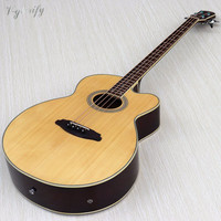 4 string acoustic electric bass guitar free shipping