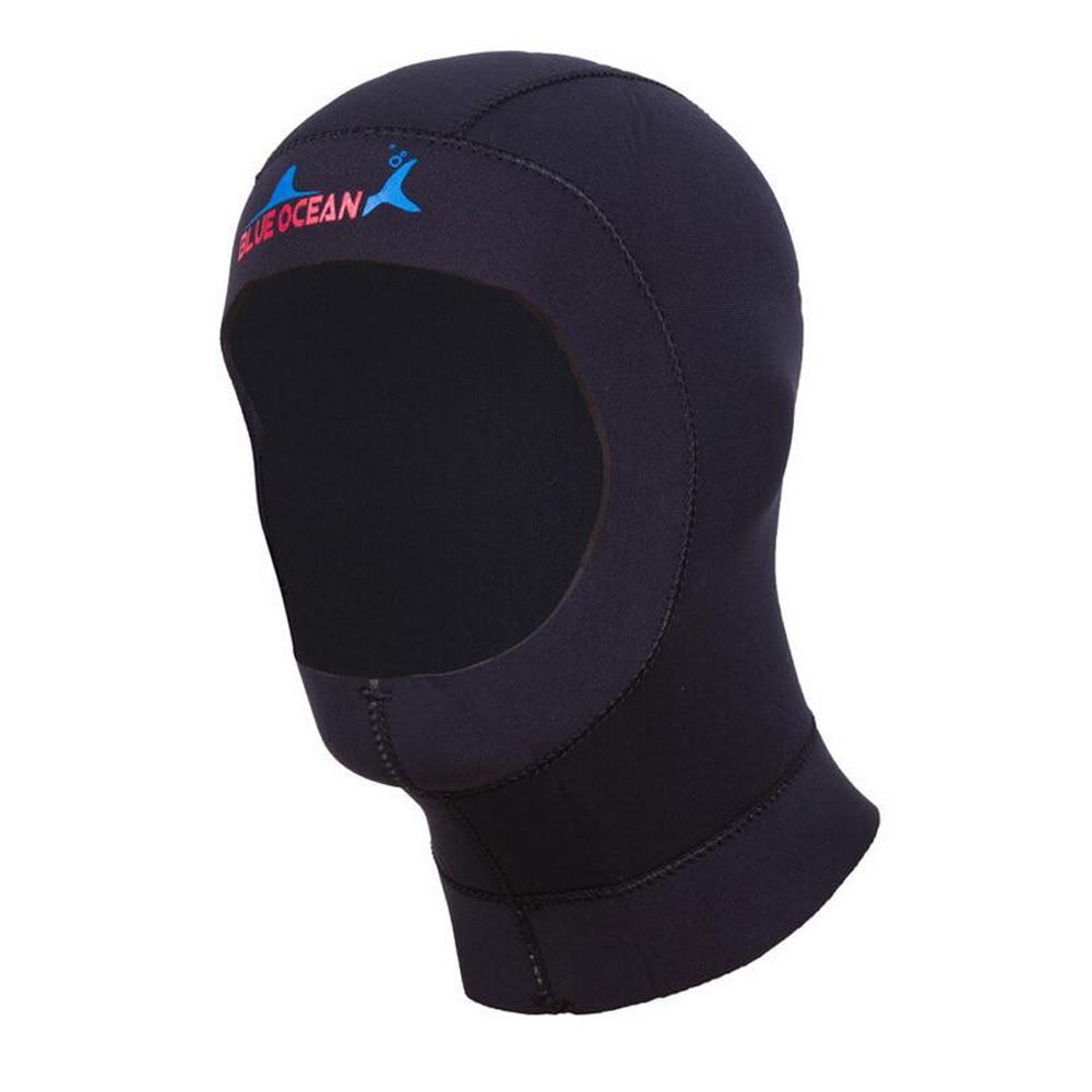 Appena 3mm Neoprene Scuba Diving Cap Attrezzatura Per Lo Snorkeling Hood Inverno Cappello Di Nuotata/cap Muta Caldo Proteggere I Capelli