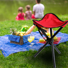 Ultralight Chair Outdoor Camping Tripod Folding Stool Chair Fold Fishing Foldable Portable Fishing Mate Fold Chair Three-legged