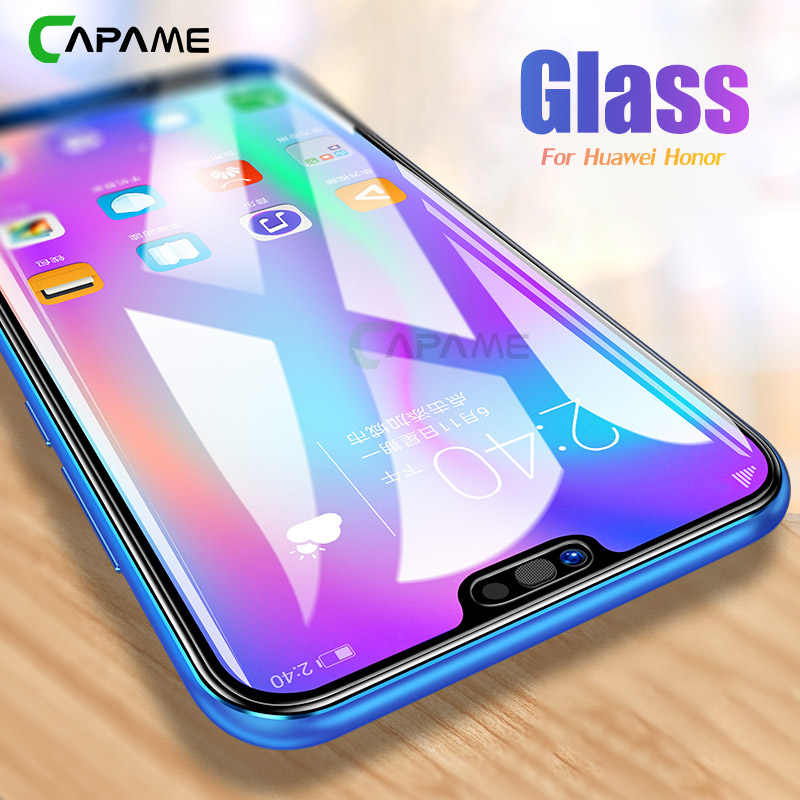 CAPAME Tempered Glass For Huawei P20 P8 P9 Lite 2016 2017 P10 Plus Screen Protectors 9H Glass P Smart, For Huawe P20 Lite Glass