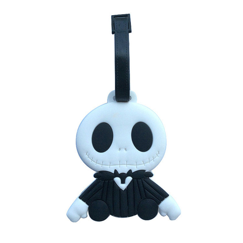 Nightmare Jack Anime Travel Accessories Luggage Tag Suitcase ID Address Portable Tags Holder Baggage Label New
