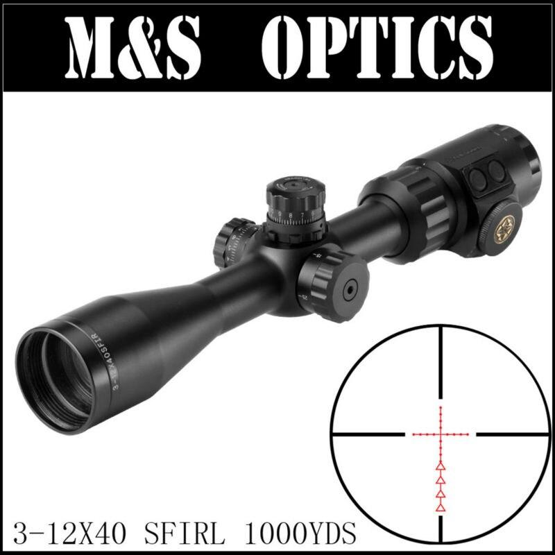 MARCOOL ALT 3-12X40 SFIRL Hunting Optics Riflescope Tactical Gun Rifle Scopes Optical Sight For Adults marcool alt za3 5 25x56 sfir riflescope
