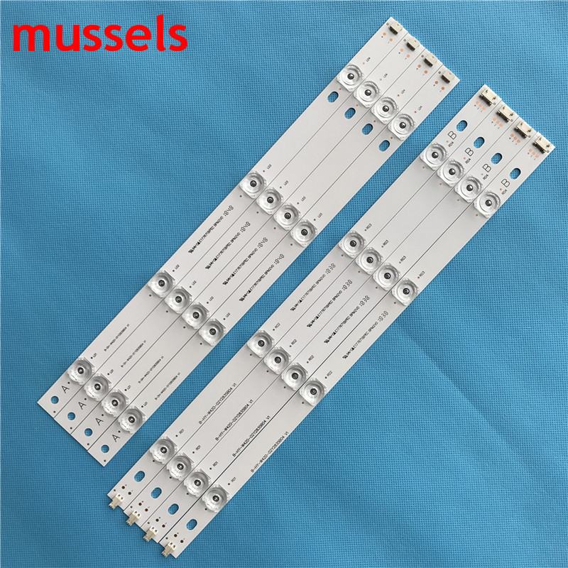 """Image 2 - LED Backlight strip For LG 42"""" TV 8 Lamp 825mm INNOTEK DRT 3.0 42""""_A/B TYPE 42LB5610 42LB5510 42LY320C 42GB6310 Wholesale prices-in Industrial Computer & Accessories from Computer & Office"""