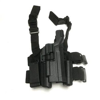 Military HK USP Gun Holsters Light Bearing Tactical Leg Holster Airsoft Shooting RH Pistol Hunting Thigh Holsters фото