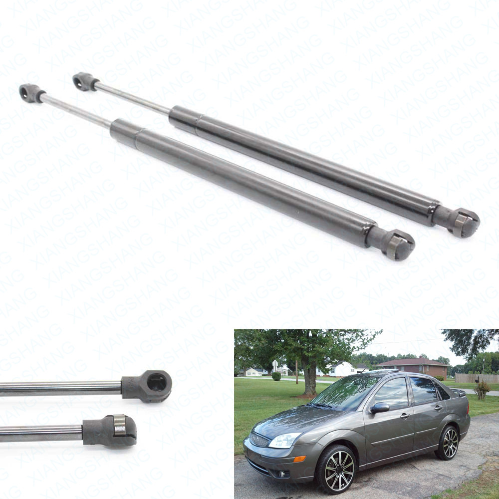 Xiangshang Car Parts Store 2pcs Trunk Boot 6436 Auto Gas Spring Struts Lift Support Rod Fits Ford Focus 2005 2006 2007 2008 2009-2011 Mazda 6 W/O Spoiler