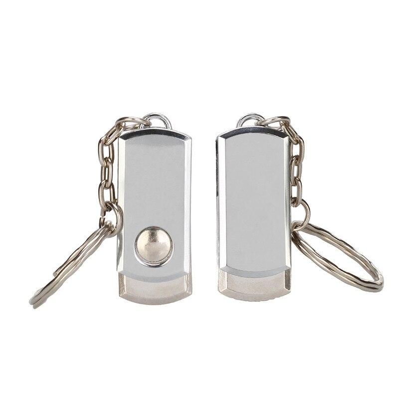 Usb flash drive 64gb usb 2.0 pendrive metal waterproof 4GB 16GB 32GB 128GB silver bracelet flash stick best gift free print LOGO (8)