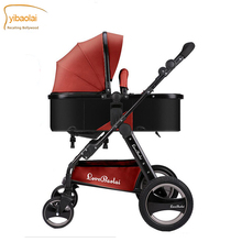 European high-profile baby trolley can be used to lying two-use baby carriages can reduce the vibration umbrella carts