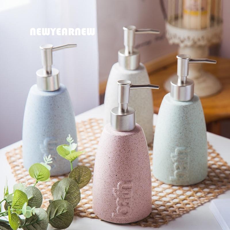 Ceramic hand wash bottle hazardous drug spill kit