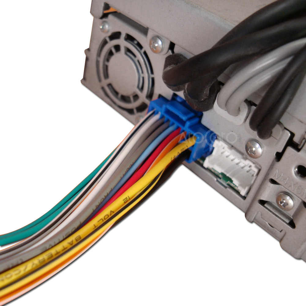for pioneer avh p6500dvd avic n1 n2 n3 16pin copper wire harness blue plug  [ 1000 x 1000 Pixel ]