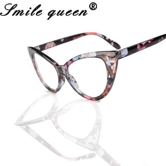 fcfc3cacbb57b 2016 Novo Gato Olho Quadro Óculos Para As Mulheres Sexy Retro Homens da  moda Óculos de