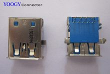 Usb3.0 المقبس صالح لل hp توش lavaca 520-1020 ولينوفو aio C320 series laptop motherboard أنثى usb 3.0 فتحة الموصل(China)