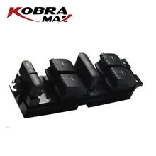 KobraMax Window Master Switch Button Console Black Switch Control Panel Trim Bezel 1J4959857D for Volkswagen Passat A4 Bora