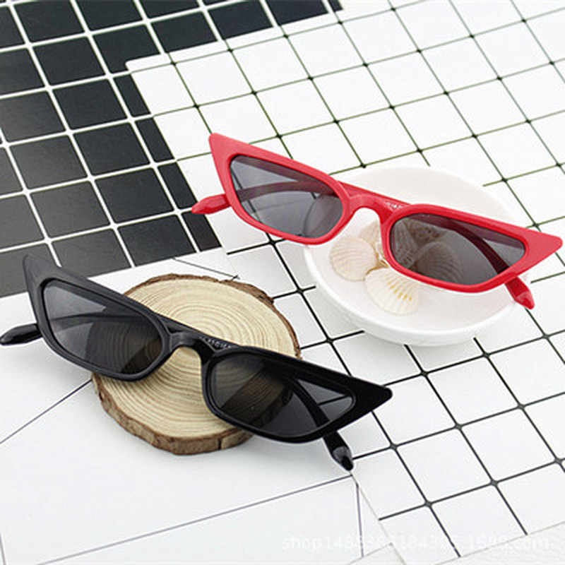 2019 Fashion Men Women Vintage Cat Eye Sunglasses Retro Small Frame UV400 Eyewear Fashion for driver Luxury Brand Designer