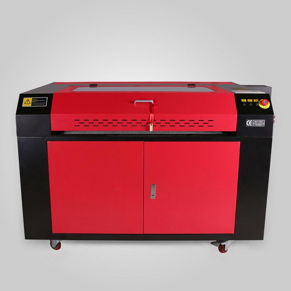 100 W 6090 Machine de gravure Laser CO2 Machine de découpe Laser 220 V/110 V CNC