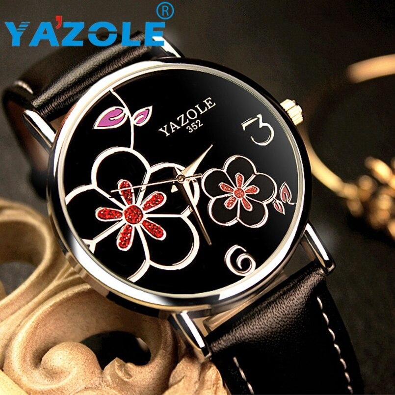 YAZOLE Wrist Watch Women Top Brand Luxury Famous Wristwatch Female Clock Quartz Watch Hodinky Quartz Watch Relogio Feminino #A94