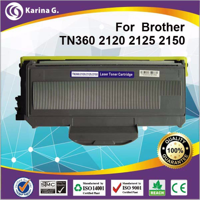 NEW for TN360 TN-360 Toner Cartridge For Brother HL-2140, HL-2150N, HL-2170W new tn360 tn 360 toner cartridge for brother hl 2140 hl 2150n hl 2170w