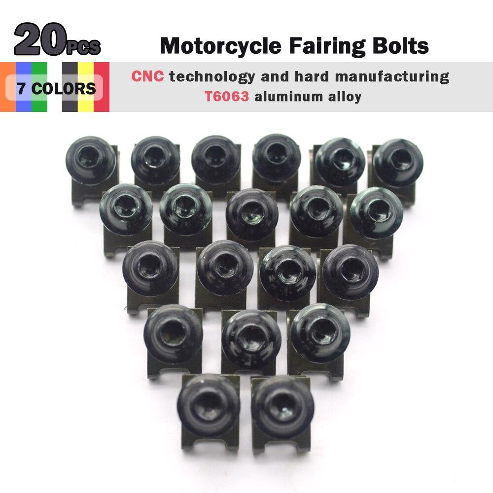 Complete Fairing Bolt nut screw Kit For HONDA CBR600RR CBR 600 RR 2003-2006 2003 2004 2005 2006 fairing bolt screw Accessories