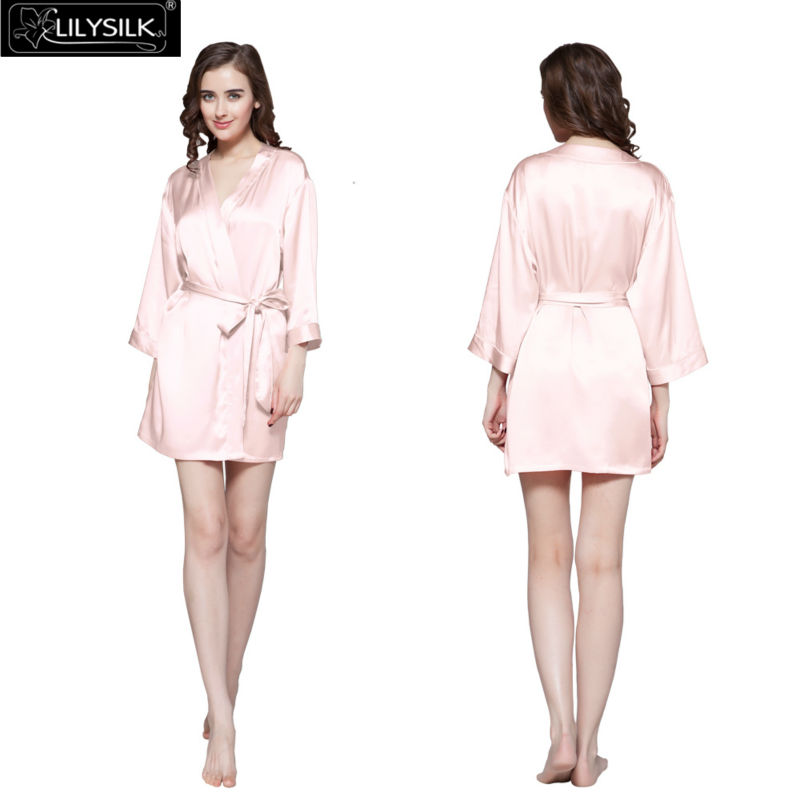 1000-light-pink-22-momme-mini-cut-silk-dressing-gown