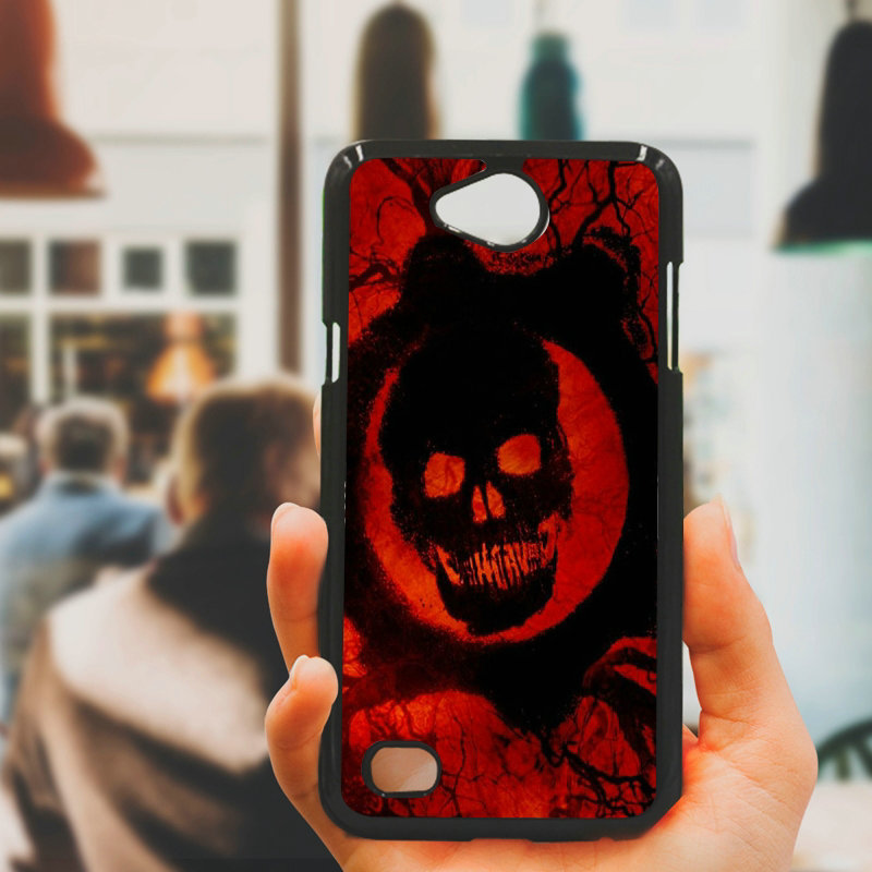 Phone Case Cases Dead De Sound Skull Hard PC Black Cover for LG L Prime G2 G4 G5 G6 G7 K4 K8 K10 V20 V30 2017 Nexus 5 6 5X Pixel