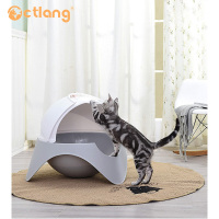 Space Warehouse Cat Litter Pet Cleaning Closed Cat Toilet Plastic Basin Training Toilet