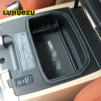 Non Slip Central Armrest Container Holder Stowing Box For Toyota Land Cruiser 200 FJ 200 Accessories