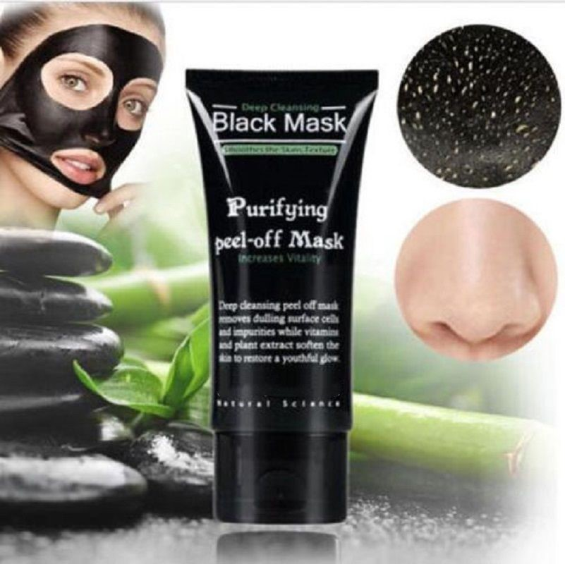 Face Mask Blackhead Remover Deep Cleansing Purifying Peel Off Acne Black Mud facial Black Mask Face Care Nose Remo Acnever aliver 300pcs purifying blackhead remover peel off black facial mask for men face skin care free shipping by dhl