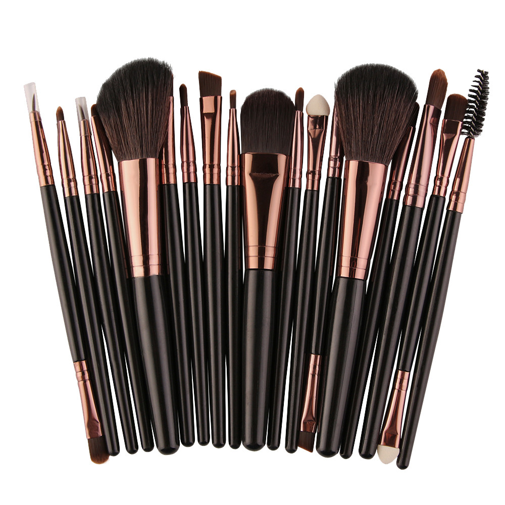 Professional brush Makeup Brushes & Tools 18 pcs Makeup Brush Set tools Make-up Toiletry Kit Wool Make Up Brush Set cosmetic at fashion 12 pcs makeup brushes set studio holder portable make up cup natural hair synthetic duo fiber makeup brush tools kit