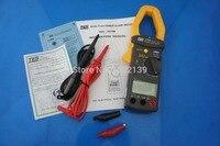 Новый TES 3079K 3 фазы Многофункциональный цифровой измеритель мощности с зажимом