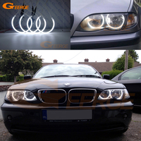 Excellent Ultrabright Headlight Illumination CCFL Angel Eyes Kit For BMW E46 316 320 323 325 328