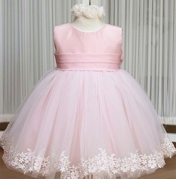 Hot Birthday Party Princess Dress Baby Dinner European Style For 2 6 Years Old Children Wear Free Shipping