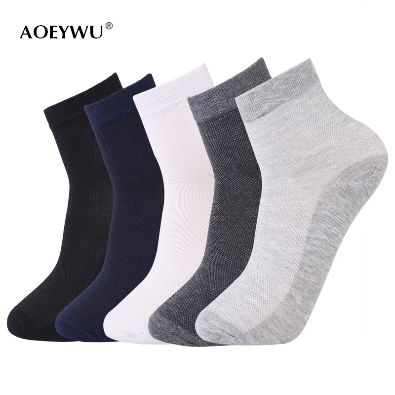 10Pairs/lot High Quality Men Business Mesh Thin Cotton Socks For Male Spring Summer Eur39-44