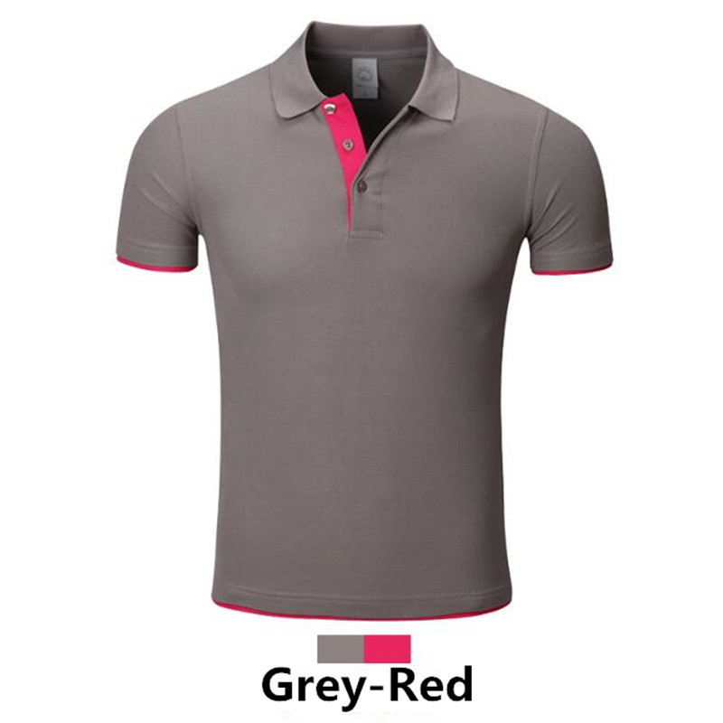 Men's Clothing Gustomerd 2018 New Mens Polo Shirt Brand Men Black Contrast Color Polo Shirts Summer Casual Floral Polo Shirts Men High Resilience Polo