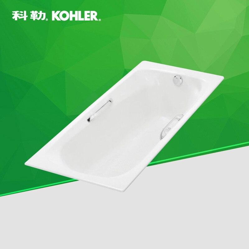 Kohler cast iron bath tub Melanie 1.5 m K 17502T 0 / GR 0-in Bath ...