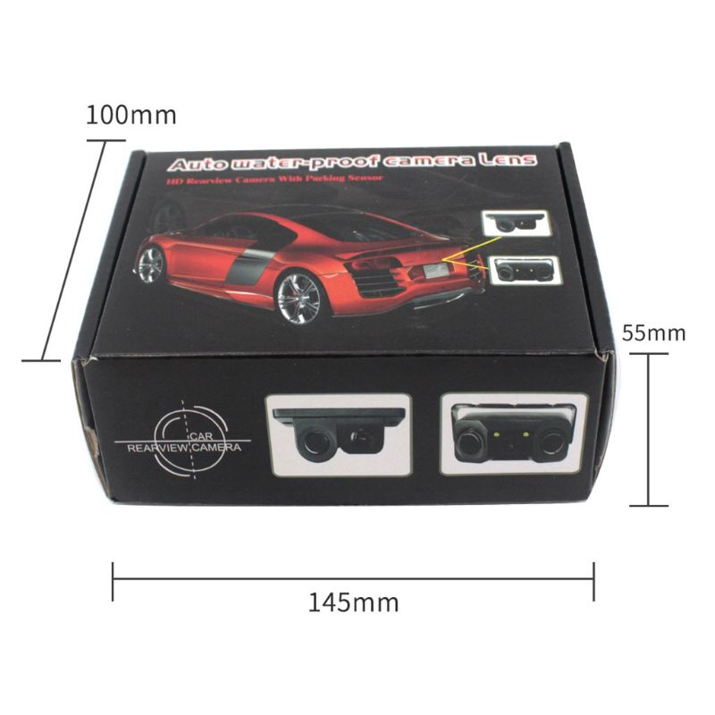 Image 5 - Car Intelligent Visual Reversing Radar Image Two In One Car Buzzer HD Night Vision Reversing Image Car Radar Camera-in DVR/Dash Camera from Automobiles & Motorcycles